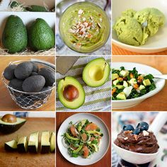 Everything about avocados ♥