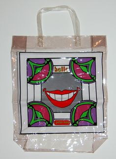 Peter Max shopping bag.