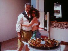 en Ibiza con mi gran amigo Jaime Milan del Boss! en mi cumpleaños en Bora Bora