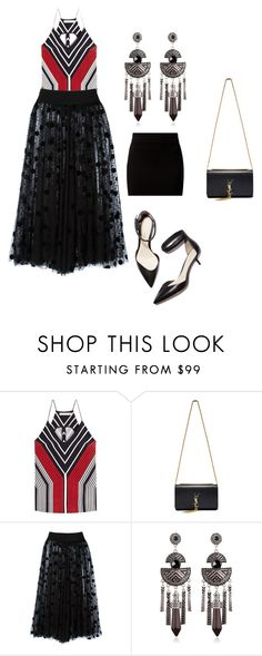 """""""trend"""" by nishadnancy on Polyvore featuring 3.1 Phillip Lim, Mary Katrantzou, Yves Saint Laurent, Gianluca Capannolo and New Look"""