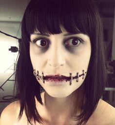 24 des plus effrayants maquillages d 39 halloween qui sont de - Citrouille epeurante ...