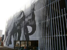 Image result for screen printed facade