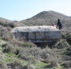 Publicamos el segundo de una serie de bunkers rectangulares en Titulcia.