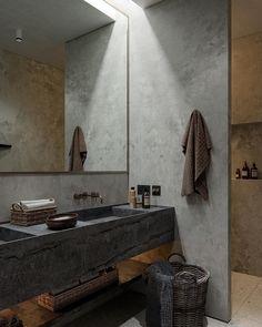 Japanische Ästhetik: 45 Wabi Sabi Home Décor Ideas Loft Interior, Bathroom Interior Design, Decor Interior Design, Interior Design Examples, Interior Design Inspiration, Bathroom Inspiration, Design Ideas, Daily Inspiration, Wabi Sabi
