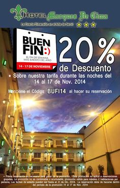 Promocion del Buen Fin 2014