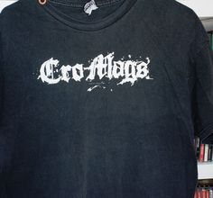 CRO-MAGS LOGO T-SHIRT XL NYHC