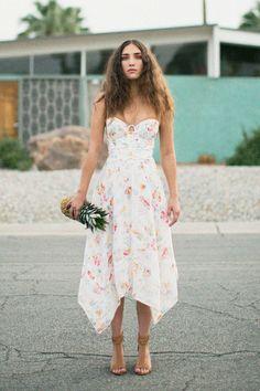 Zimmermann - Floral Belle Bustier Dress BONA DRAG