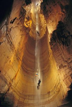 he Krubera Cave, Abkhazia, Georgia The deepest known cave on Earth. Located in the Arabika Massif of the Gagrinsky Range of the Western Caucasus, in the Gagra district of Abkhazia, Georgia's breakaway republic. What A Wonderful World, Beautiful World, Beautiful Places, Amazing Places, Oh The Places You'll Go, Places To Travel, Places To Visit, Travel Stuff, Travel Destinations