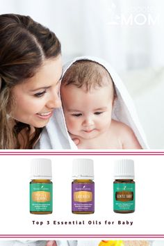 The Top 3 Essential Oils for Baby