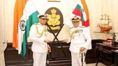 Admiral Karambir Singh Takes Charge As Naval Chief; Indian Navy Gives Emotional Farewell to Admiral Sunil Lanba, Watch Video Indian Navy, Take Charge, Watch Video, Couples, Couple