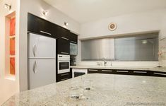 #Kitchen Idea of the Day: Modern Black Kitchens. Lovely, black