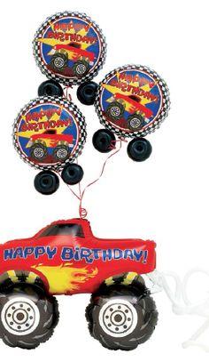 Vroom-Vroom Monster Truck Birthday
