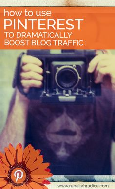 Use Pinterest to boost blog traffic - more great blogging tips!