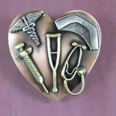Nurse Bling: Nurse tools of the trade brooch. #Nurses #NurseBling #Brooch