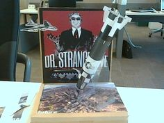 Dr Strangelove Paper-Diorama. Peter Sellers