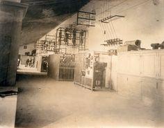 Sala de máquinas da Central do Ézaro