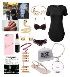 """""""Meet and Greet Jack G"""" by queen-gertrude ❤ liked on Polyvore featuring Repossi, IPANEMA, Chanel, Casetify, 21 Men, Charlotte Russe and Nintendo"""