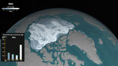 The Arctic's oldest and thickest ice has been thinning or melting away over the past decades, leaving the sea ice cap more vulnerable to the warming ocean and atmosphere.