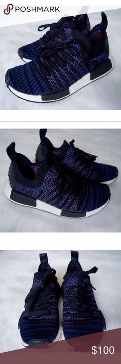 87349f74ce285 Adidas NMD R1 Primeknit Sneakers Size 6.5 - Size 6.5 but fits large like a  7.5