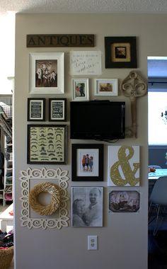 Gallery Wall | Decorating - http://akadesign.ca/gallery-wall/