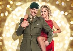Cassidy Little and his partner Natalie Lowe in The People's Strictly