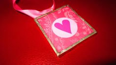 Valentine's Day Ornament  Heart by apparentlyjannette on Etsy, $10.00