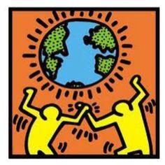 63 Ideas Modern Pop Art Painting Keith Haring For 2019 Keith Haring Poster, Keith Haring Art, Keith Haring Prints, Graffiti Prints, Graffiti Art, Inspiration Artistique, Dancing Figures, Canvas Prints, Art Prints