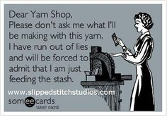 Dear Yarn Shop.