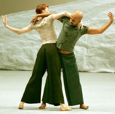 ... junto a akram khan en monstuos sagrados con coreografía de khan