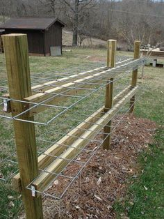 2 tier RGGS idea -- put the gutter between the horizontal boards. The wire will support the grow bags...