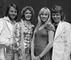 1974 Abba wint het Eurovisiesongfestival met Waterloo
