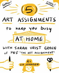 5 easy art projects to enjoy during social distancing High School Art, Middle School Art, Art Assignments, Building Illustration, Cool Art Projects, Project Ideas, Projects To Try, Virtual Art, Art Curriculum