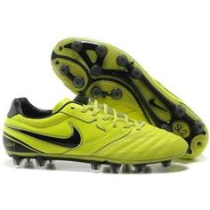 http://www.asneakers4u.com/ Nike Tiempo Super Ligera II FG Firm Ground Football Shoes In Electricity and Black