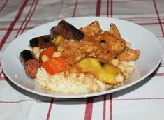 Couscous agneau Menu 1200 Calories, Kung Pao Chicken, Risotto, Healthy, Ethnic Recipes, Food, Couscous Recipes, Light Recipes, Thermomix