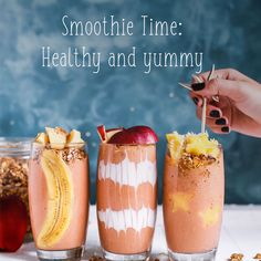 In app Natural Remedies find yummy and healthy smoothies!  #smoothie #healthydrink