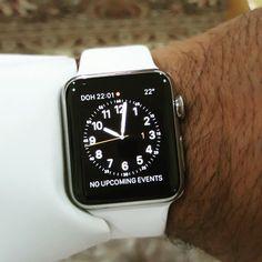My new shit #applewatch #new #doha #middleeast #latinosandlatinas #watchme by suss886107