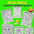 This is a six page set of Multiplication Mosaics... A fun and engaging way for students to practice their multiplication facts. To use, simply solv...