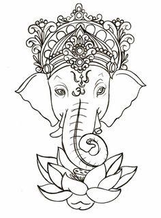 indian-elephant-art-on-pinterest-elephant-art-painted-indian-for-indian-elephant-god-drawing.jpg (736×992)