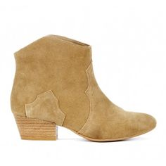 Tan Western booties - Elsa , love it cause they are low cut but still have a nice western boot look.