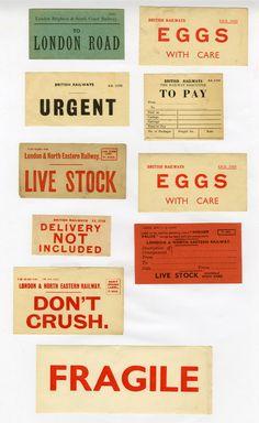 british railways ephemera | British railways stickers from p… | Flickr - Photo Sharing!