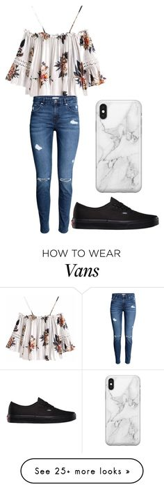 """outfit 74"" by lelanddlopez on Polyvore featuring Vans, Recover and cuteoutfit"