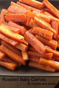 This Roasted Baby Carrots recipe will have everyone eating their vegetables—and asking for seconds!