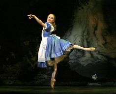 """cosasdeporahi: """" Maria Kochetkova - Ballet : Alice in wonderland """" They are doing a Cinderella ballet this coming weekend at our local college. I'm thinking about going because it's based on the. Street Dance, Ballet Costumes, Dance Costumes, Halloween Costumes, Alice In Wonderland Ballet, Ballet Images, Ballet Clothes, Shall We Dance, Ballet Photography"""