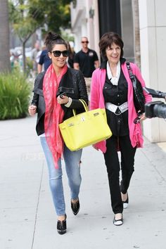 8b6e6c474f6 Kim Kardashian with a Yellow Birkin Bag Summer Fashion Trends