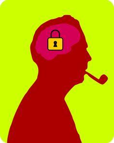 Kilitli düşünceler Locked thoughts