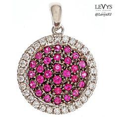P9108-RWG #jewelsbyirina #fashionjewelry #pendant
