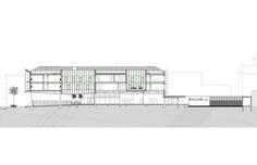 DOUBLE SKIN - Project: Nouvelle court d'appel, Fort-de-France | Martinique (France) - Architect: Gilles Bouchez, Paris | France - Construction: Cassettes SZ20 - Year: 2014 - Product: ALUCOBOND® Silver Metallic - Photos: Axel Dahl
