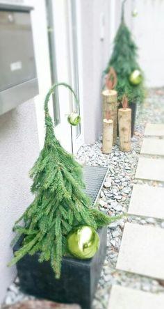 Curvy Head Christmas Tree