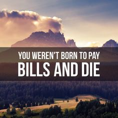 """""""If you're a 9-5 hustler or an entrepreneur, remember your not in this just to pay your bills  #entrepreneur #entrepreneurs #entrepreneurship…"""""""