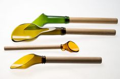 recycled bottle utensils